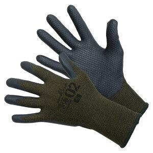 SHOWA 自衛隊採用グローブ 護 MAMORI 02 グリップ [ Sサイズ ] ショーワグローブ 自衛隊モデル ミリタリーグローブ 手袋 ワークグローブ レザーグローブ 革手袋 軍用手袋