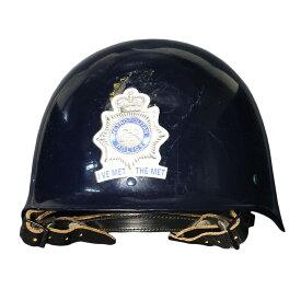 イギリス警察 放出品 ヘルメット F1型 ロンドン警視庁ステッカー付 タクティカルヘルメット コンバットヘルメット メトロポリタン ポリス サバゲー装備 ミリタリーヘルメット 戦闘用ヘルメット 鉄帽 スチールヘルメット 鉄鉢 テッパチ