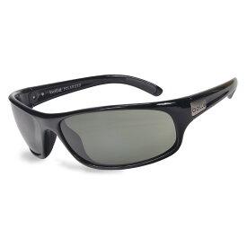 Bolle 偏光サングラス アナコンダ ブラック ボレー | メンズ スポーツ 紫外線カット UVカット グラサン 運転 ドライブ バイク ツーリング ポラライズド フィッシング 釣り