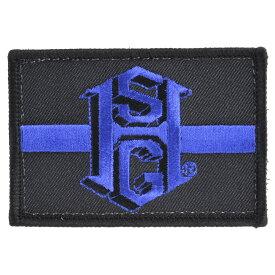 ハイスピードギア HSGI ミリタリーパッチ 90TL00 シンライン [ ブラック ] ミリタリーワッペン アップリケ 記章 徽章 襟章 肩章 胸章 階級章