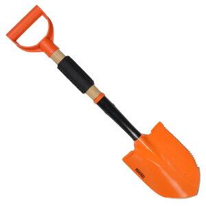 マーブルス シャベル MR392 オレンジコーティング パラコード付 ショベル 穴掘りシャベル エンピ 円匙 スコップ イントレンチツール Eツール