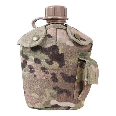ロスコ水筒カバーボトルポーチMOLLE対応