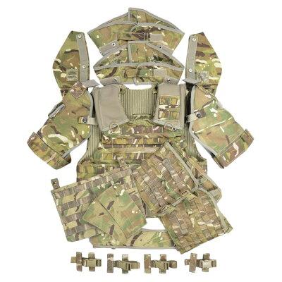 イギリス軍放出品オスプレイMK4AボディアーマーセットMTP迷彩[170/100]OSPREYMK4A型プレートキャリアソフトボディアーマーセットサバゲ—装備品