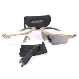 ESS サングラス Crossbow クロスボウ 2X テレインタンフレーム クロスボー メンズ スポーツ 紫外線カット UVカット グラサン 運転 ドライブ バイク ツーリング 曇り止め シューティンググラス 射撃用サングラス 射撃用メガネ 保護メガネ セーフティーグラス