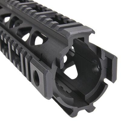 FABディフェンス実物アルミ製ハンドガードVFR-SVDドラグノフ狙撃銃用DEFENSEレールハンドガードレイルハンドガード被筒MIL-STD-1913ピカティニー3面レールSVD用ドラグノフスナイパーライフル用