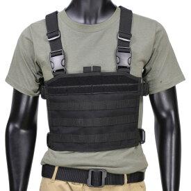 CONDOR チェストリグ MCR3 モジュラー [ ブラック ] 弾薬帯 M4マガジンポーチ M16マガジンポーチ M4マグポーチ M16マグポーチ サスペンダー