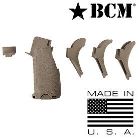 BCM 実物 ガングリップ Mod2 ガンファイターグリップ M4/AR15対応 [ フラットダークアース ] ラバーグリップ ハンドガン カスタムパーツ カスタムグリップ ブラボーカンパニー