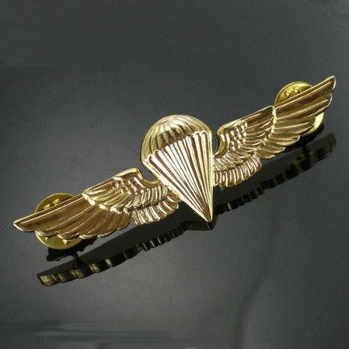 Rothco ピンバッジ 1652 海兵隊 空挺徽章 パラウイング | ピンズ ミリタリーバッジ ミリタリーバッチ 記章 襟章 肩章 胸章 袖章 臂章 階級章