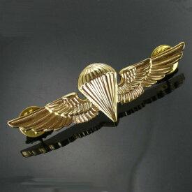 Rothco ピンバッジ 1652 海兵隊 空挺徽章 パラウイング | ピンズ ミリタリーバッジ ミリタリーバッチ 記章 襟章 肩章 胸章 袖章 臂章 階級章 エンブレム