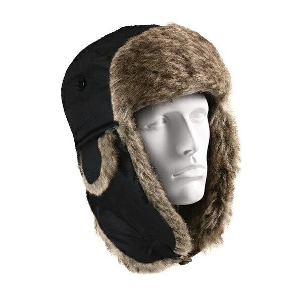 Rothco 防寒帽子 フライヤーズハット [ ブラック / Lサイズ ] ROTHCO 黒 RO9870 屋外での防寒対策に 防寒グッズ FLYERS HAT