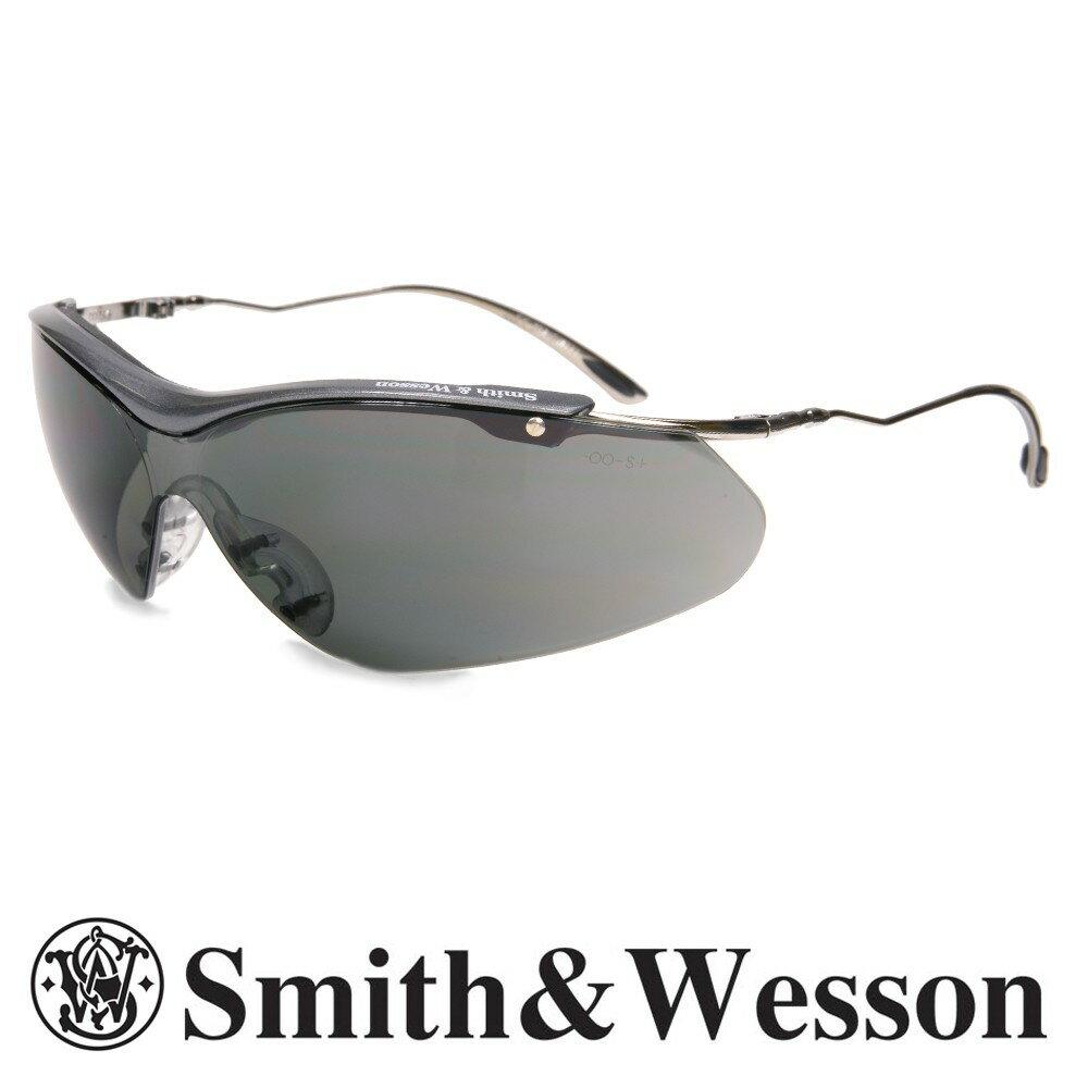 S&W シューティンググラス シグマ ブラック | SIGMA スミス&ウエッソン スミス&ウェッソン サングラス メンズ 紫外線カット UVカット グラサン クレー射撃 保護眼鏡 保護メガネ 曇り止め