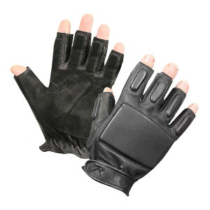 ロスコ ラペリンググローブ 牛革 フィンガーレス [ Lサイズ ] 革手袋 レザーグローブ 皮製 皮手袋 ハンティンググローブ タクティカルグローブ ミリタリーグローブ ラぺリンググローブ 軍用
