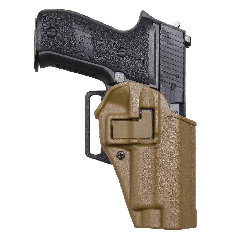 ブラックホーク CQCホルスター SERPA マルイ P226E2、KSC P226R適合 [ コヨーテタン / 右利き ] Sig 220226 410506CT-R シグザウエル   Serpa シェルパ Blackhawk BHI