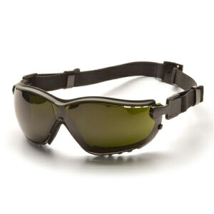 Pyramex セーフティゴーグル V2G 5.0IR フィルター | セーフティアイウエア 紫外線 UVカット 安全保護防塵曇り止め IRサングラス 溶接メガネ 溶接めがね 遮光メガネ 遮光めがね