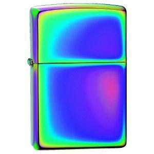 ZIPPO スペクトラム #151 zippoロゴ入 レインボー 虹色   ジッポー オイルライター