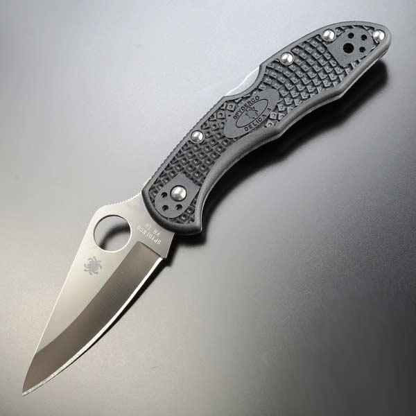 SPYDERCO 折りたたみナイフ C11PBK デリカ4 DELICA4   Spyderco 折り畳みフォルダー フォールディングホールディング