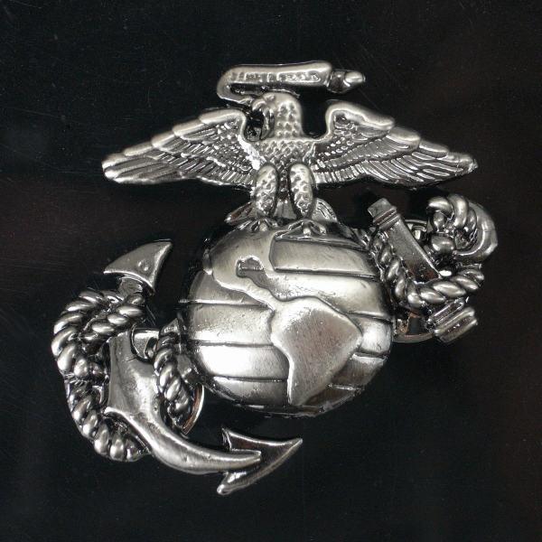 Rothco ピンバッジ 1753 海兵隊 紋章 アンカー   ピンズ ミリタリーバッジ ミリタリーバッチ 記章 徽章 襟章 肩章 胸章 袖章 臂章 階級章