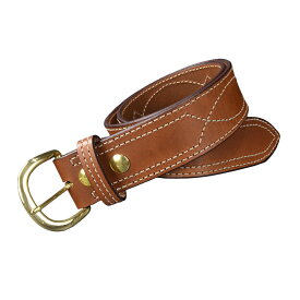 ビアンキ B9ベルト 真鍮バックル 本革 シューターベルト [ 38インチ ] BIANCHI メンズ レディース 本革ベルト 紳士用 バックルベルト 皮ベルト ファッション