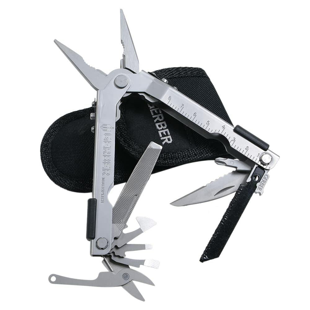 GERBER マルチプライヤー MP600 プロスカウト 07563 ペンチ 携帯工具 マルチツールナイフ 十徳ナイフ 十得ナイフ 万能ナイフ サバイバルツール
