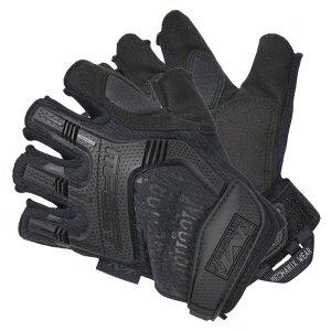 メカニクスウェア M-Pact ナックルガード付 ハーフフィンガーグローブ [ Mサイズ ] Mechenix Wear 革手袋 レザーグローブ 皮製 皮手袋 ハンティンググローブ タクティカルグローブ ミリタリーグロ