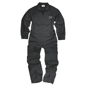 Rothco つなぎ フライトスーツ Lサイズ [ ブラック ] ロスコ フライトカバーオール 作業着 サバゲー装備 ジャンプスーツ 飛行服 ツナギ 煙管服 円管服 円環服 えんかん服