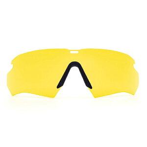 ESS クロスボウ サングラス用 交換レンズ [ イエロー ] クロスボー Crossbow メンズ スポーツ 紫外線カット UVカット グラサン 運転 ドライブ バイク ツーリング 曇り止め 替えレンズ 予備レンズ