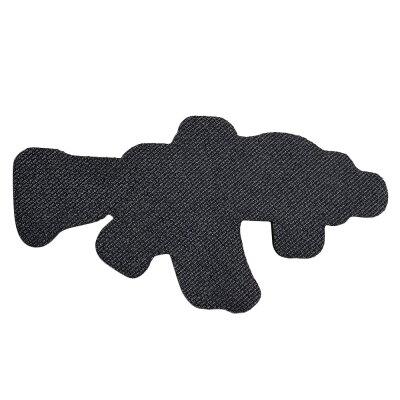 ミリタリーワッペンMK18Mod1ライフル刺繍ベルクロrifleミリタリーパッチアップリケ記章徽章