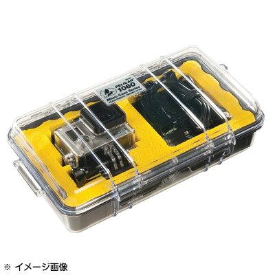 PELICANマイクロケース1060[ソリッド/ODグリーン]クリアブラックCBKペリカン透明防水ケース携帯電話デジカメケース保護ケースダイビングプラスチックボックス