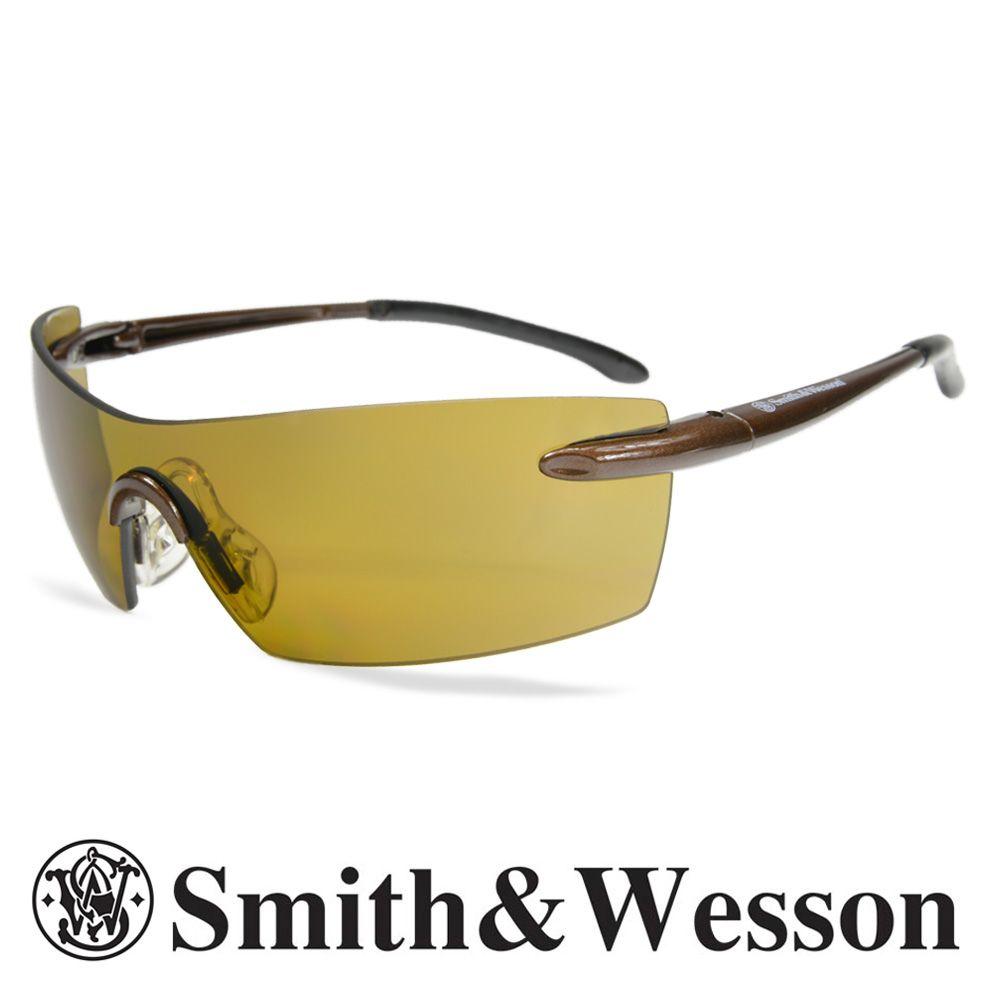 スミス&ウエッソン サングラス キャリバー ブラウン S&W | スミス&ウェッソン メンズ スポーツ 紫外線カット UVカット グラサン 運転 ドライブ バイク ツーリング 曇り止め