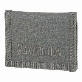 マックスペディション LPW 2つ折り財布 カードサイズ [ グレー ] MAXPEDITION Low Profile Wallet 二つ折りウォレット パスケース