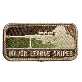 ミルスペックモンキー Major League Sniper パッチ ベルクロ付き [ アリッド ] MSM MIL-SPEC MONKEY メジャーリーグスナイパー ミリタリー ワッペン アップリケ サバゲ—