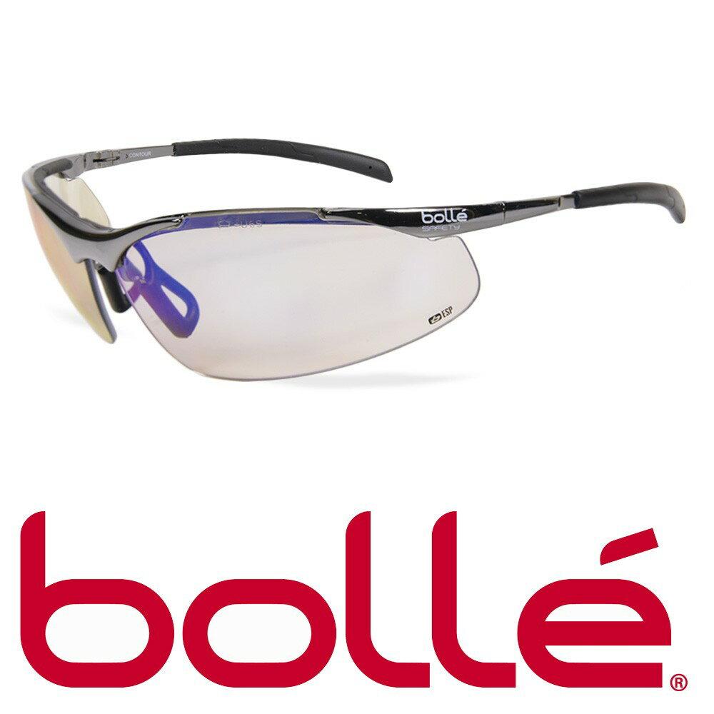 Bolle サングラス Contour Metal ESPレンズ セーフティグラス