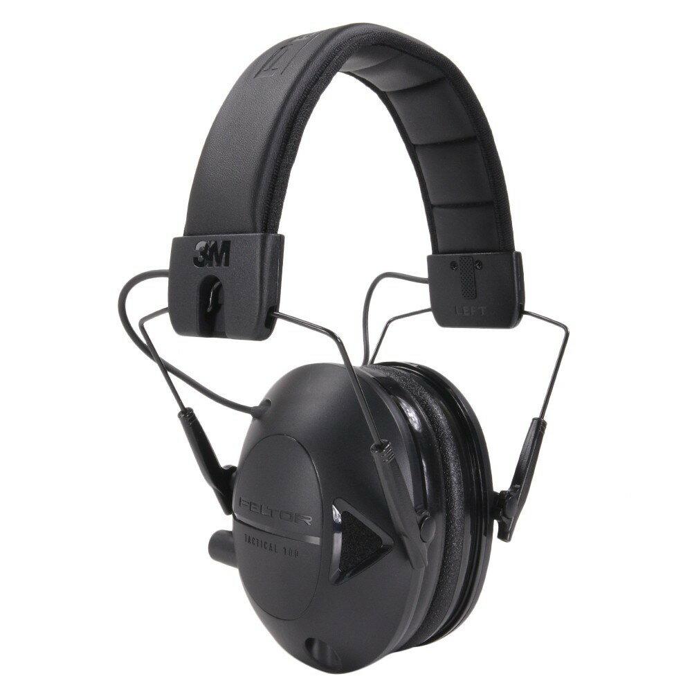 PELTOR 電子防音イヤーマフ NRR22 タクティカル100 ペルター ヒアリングプロテクター 騒音対策 防音耳あて 工事用 防音ヘッドフォン 騒音作業