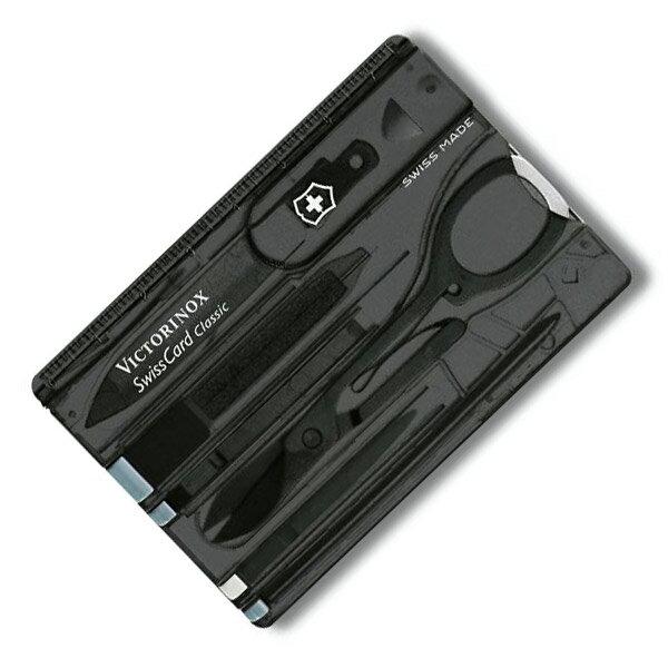 VICTORINOX マルチツール 0.7133.T3 スイスカード T3 BK Victorinox SwissCard ツールナイフ 十徳ナイフ キャンピングナイフ 万能ナイフ