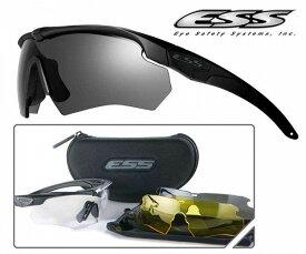ESS クロスボウ 3LS 防弾サングラス 740-0387 タクティカルサングラス 交換レンズ クロスボー Crossbow メンズ スポーツ 紫外線カット UVカット グラサン 運転 ドライブ バイク ツーリング 曇り止め