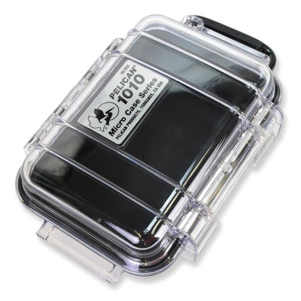 PELICAN マイクロケース 1010 [ クリアブラック ] CBK   透明 携帯電話 デジカメケース 保護ケース ダイビング プラスチックボックス