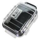 PELICAN マイクロケース 1010 [ クリアブラック ] CBK | 透明 携帯電話 デジカメケース 保護ケース ダイビング プラスチックボックス
