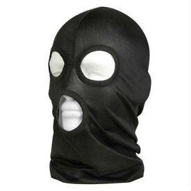 Rothco フェイスマスク ブラック 5563 目出し帽 | ロスコ フリースマスク 防寒マスク 防寒用防寒対策 防寒グッズ