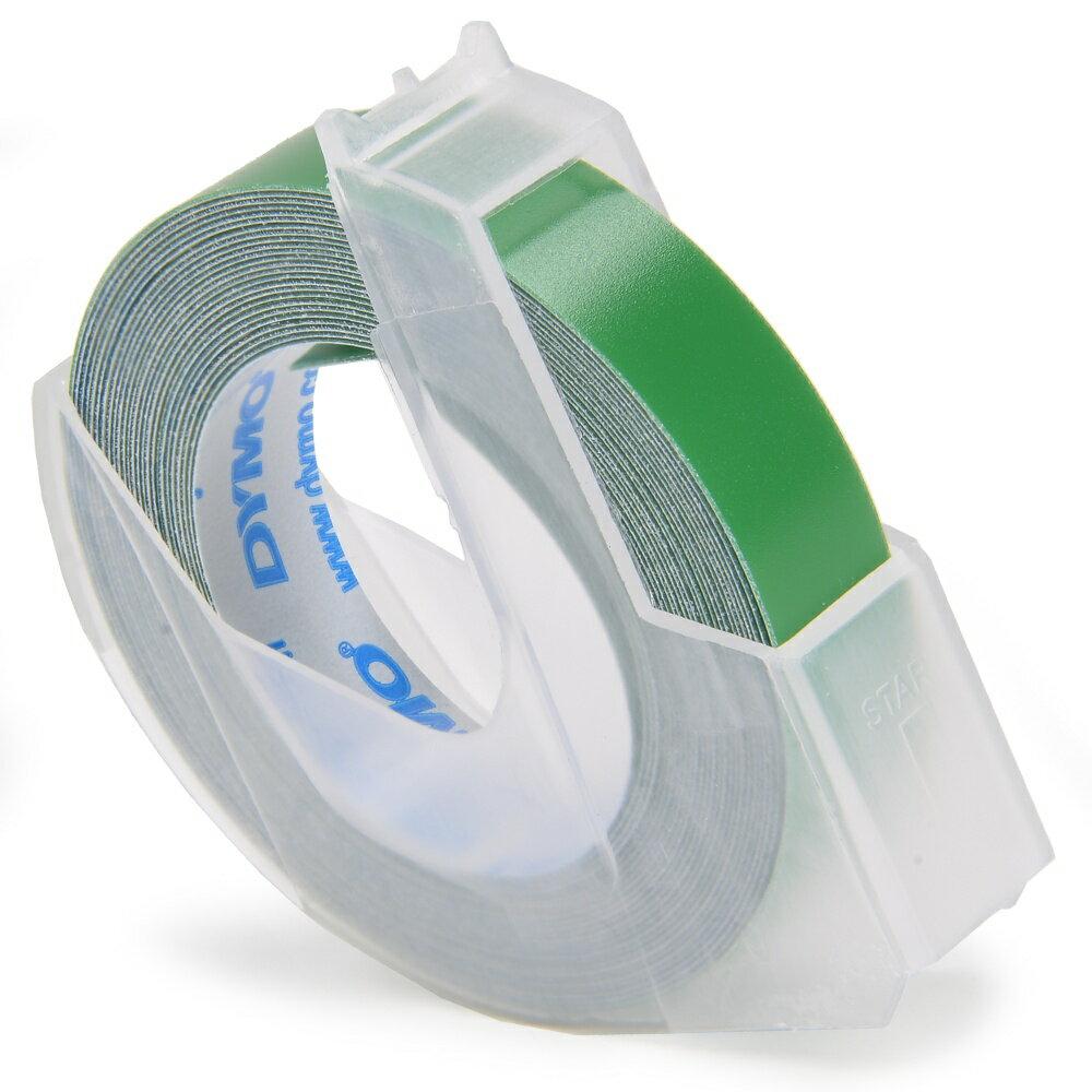 DYMO リフィルテープ 9mm幅×3M [ マット_(つやなし) / グリーン ]