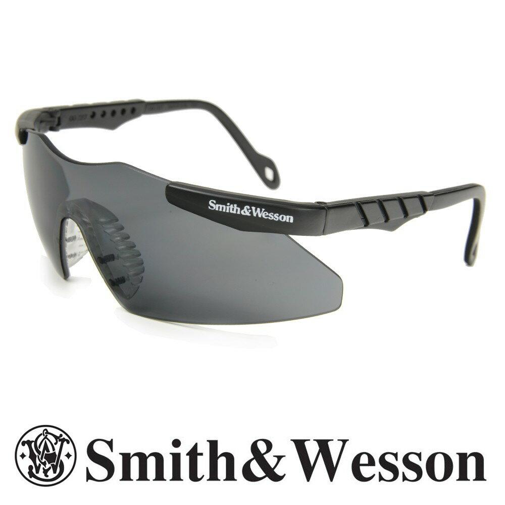 スミス&ウエッソン シューティンググラス ミニマグナム スモーク S&W | スミス&ウェッソン サングラス メンズ 紫外線カット UVカット グラサン クレー射撃 保護眼鏡 保護メガネ 曇り止め