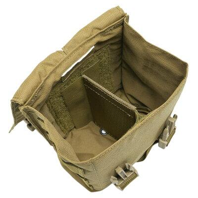 LBTマガジンポーチM249/M240他SAW・LMGドラムマガジン用9029A[コヨーテブラウン]SAWポーチ分隊支援火器機関銃MINIMIミニミアモポーチLondonBridgeTradingマグポーチライフルマグポーチライフルマガジンポーチサバゲーポーチ