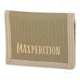 マックスペディション LPW 2つ折り財布 カードサイズ [ タン ] MAXPEDITION Low Profile Wallet 二つ折りウォレット パスケース