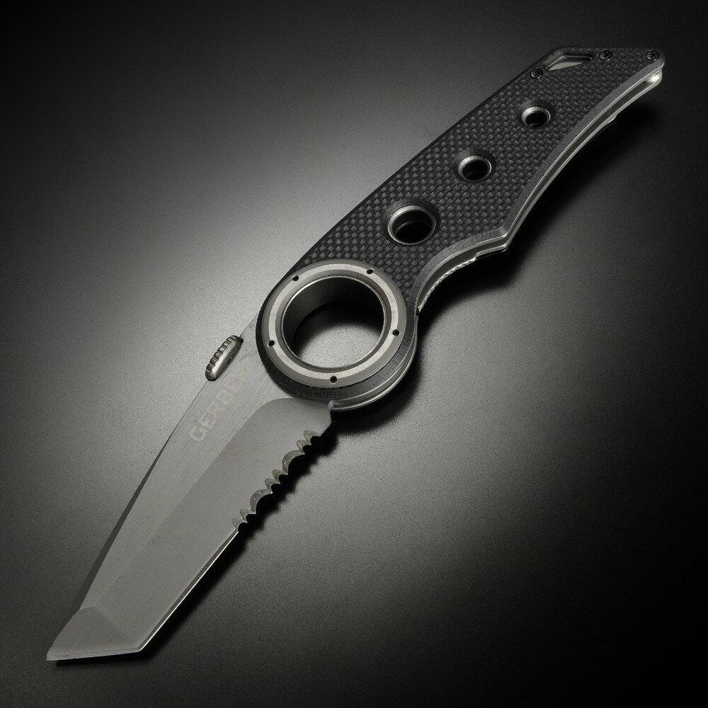 GERBER 折りたたみナイフ リミックス 半波刃 タントー REMIX 折り畳みナイフ フォルダー フォールディングナイフ ホールディングナイフ