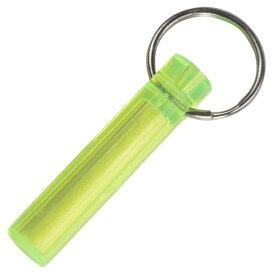 Ni-Glo キーホルダー 蓄光マーカー ミニサイズ [ サワーレモン ] ナイグロー Gear Marker ちくこう GLOWS 充電式 キーリング キーチェーン 懐中電灯 アウトドア 釣り 小型 懐中電気 防災 非常時 明るい携帯ライト 電池不要 10年 補助