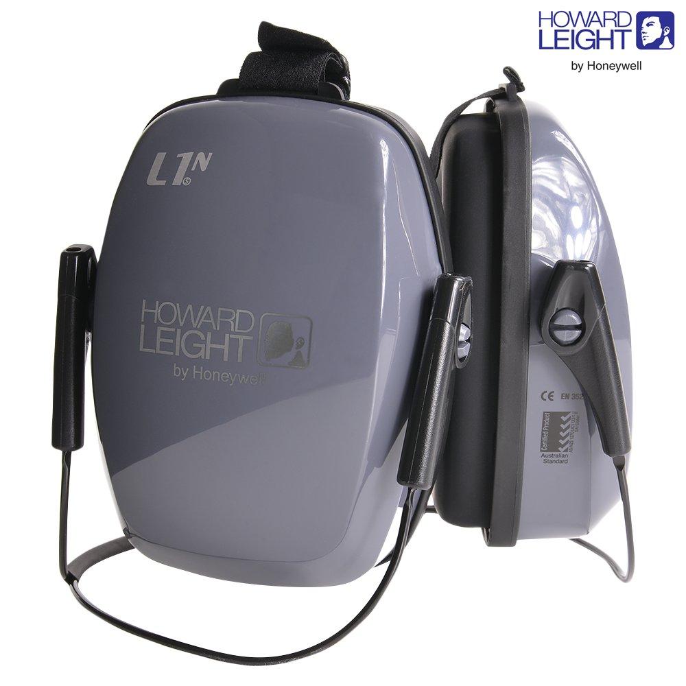 HOWARD LEIGHT 防音イヤーマフ L1N ネックバンド NRR25 | ヒアリングプロテクター 騒音対策 防音耳あて 工事用 防音ヘッドフォン 騒音作業