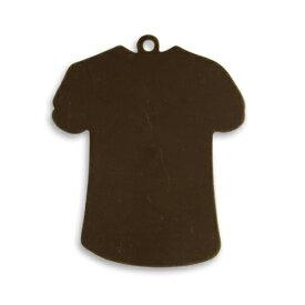 チャームパーツ Tシャツ P0520 ブラスキーホルダー メンズ チョーカー ペンダントヘッド 鋳物 鋳造