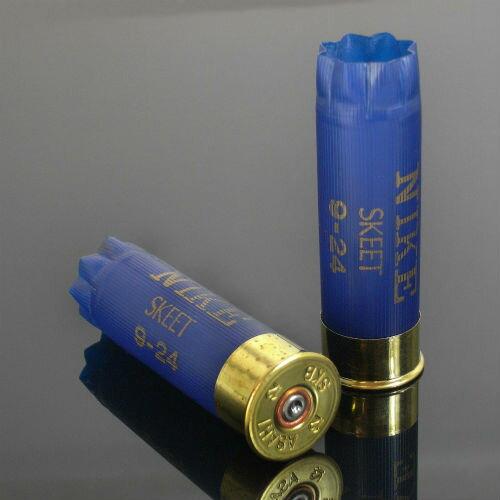 アサヒ NIKE 空薬きょう 12ゲージ スキート [ 2個セット ] ショットガン Y-ABL2-2 | やっきょう ライフルカートリッジ ショットシェル 散弾