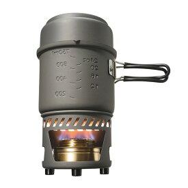 ESBIT クッカー ストーブ 985ml クックセット アルコールストーブ付 固形燃料 防災用品 非常用 アウトドア用品 鍋 ポット バーナー コンロ コッヘル