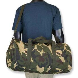 Rothco ボストンバッグ ヘビーウエイトキャンバス [ ウッドランドカモ ] 2234 ドラムバッグ スポーツバッグ