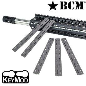 BCM 実物 レールパネル Keymod 5.5インチ 5個セット [ ウルフグレイ ] ブラボー・カンパニー・マニュファクチュアリング レイルパネル RAIL PANEL キーモッド KMR RP パネルキット ポリマー